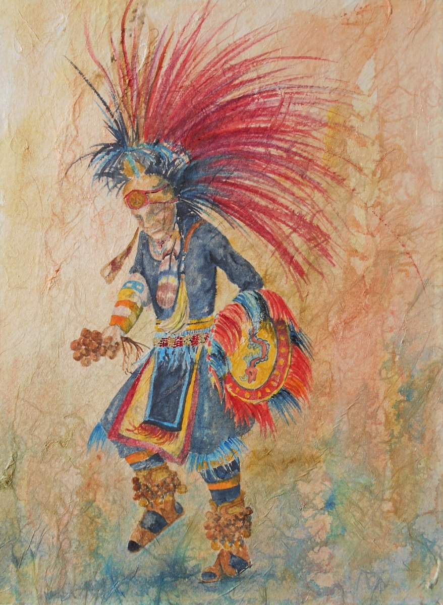male Native American dancer