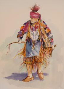 old native dancer